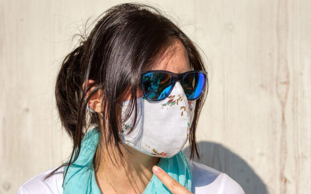 Masque de protection respiratoire en tissu
