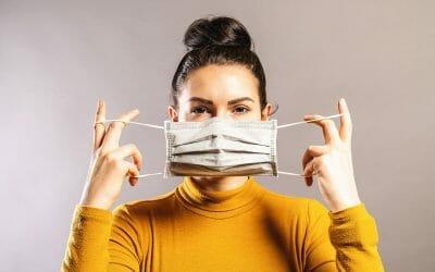 Masque De Protection En Tissus Réutilisable 50 Lavages