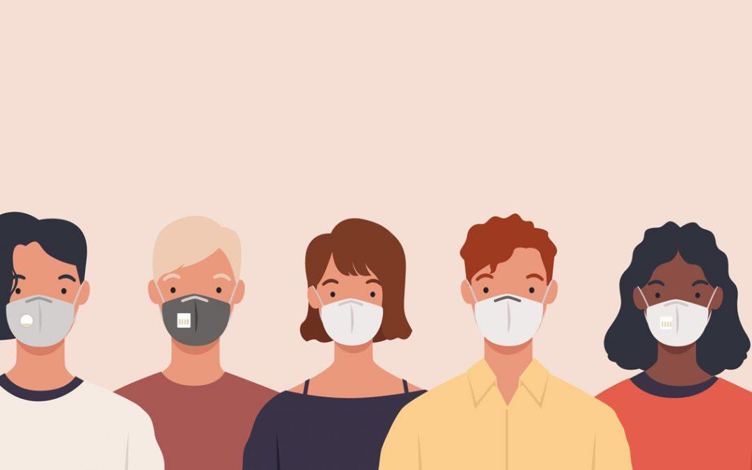 Informations pratiques sur le port d'un masque en public
