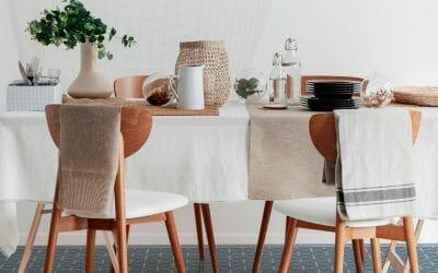 Comment nettoyer les taches du linge de table?
